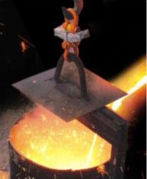 Pesagem em fundição e processos industriais